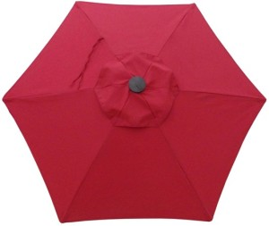 Ruby Umbrella Replacement Canopy 6 Ribs